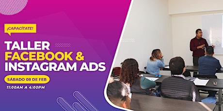 Taller Facebook & Instagram ads boletos