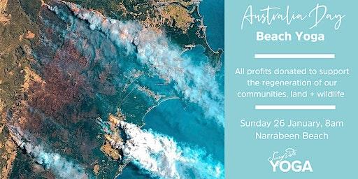 Australia Day Beach Yoga -  to support bushfires