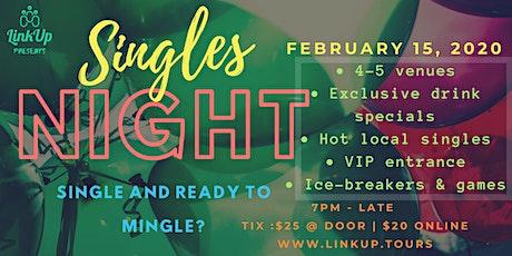 Single and ready to mingle?   Singles Night YYJ tickets
