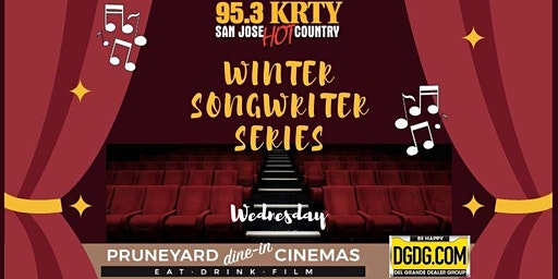 95.3 KRTY and DGDG.COM Present WINTER SONGWRITERS SHOW WEDNESDAY JANUARY 29