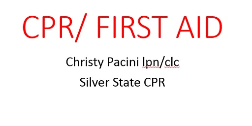 Adult and Pediatric CPR/AED with First Aid