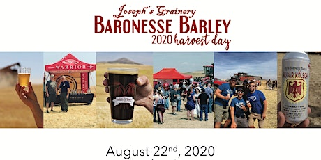 2020 BaronesseBarley Harvest Day tickets