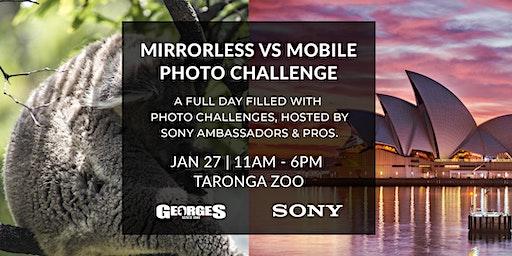 Mirrorless Vs Mobile (Wildlife, Portrait & Landscape Challenge) with Sony