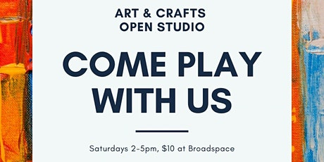 Come play with US: Arts and Crafts Open Studio for Women tickets