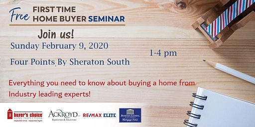 Edmonton First Time Home Buyer Information Seminar