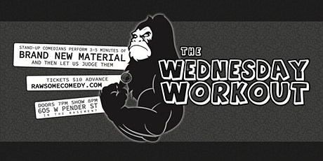 The Wednesday Workout tickets