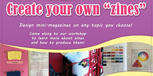"""Create Your Own """"Zines"""" - Hervey Bay Library"""