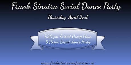 Frank Sinatra Social Dance Party tickets