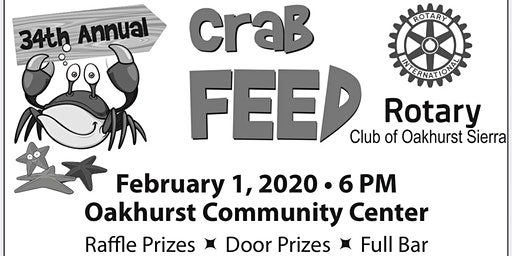 34th Annual Rotary Crab Feed