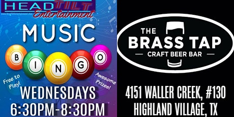 Music Bingo at The Brass Tap - Highland Village, TX tickets