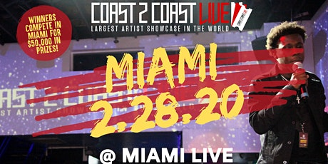 Coast 2 Coast LIVE | Miami 2/28/20 Edition - $50K in Prizes! tickets