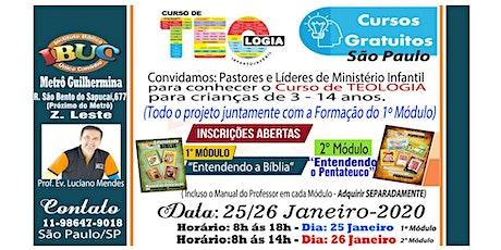FORMAÇÃO IBUC  SÃO PAULO 1º MÓDULO - GRATUITO ingressos