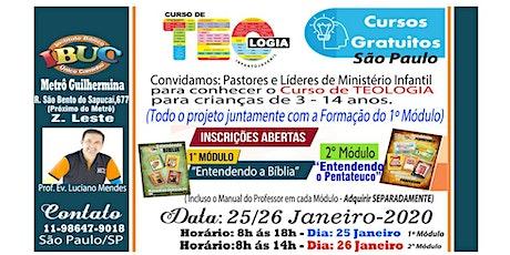 FORMAÇÃO IBUC SÃO PAULO 2º MÓDULO - GRATUITO ingressos