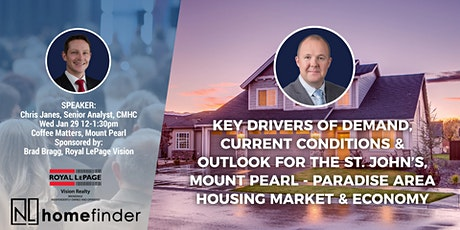 Lunch & Learn: Greater St. John's Area Housing Market & Economy tickets
