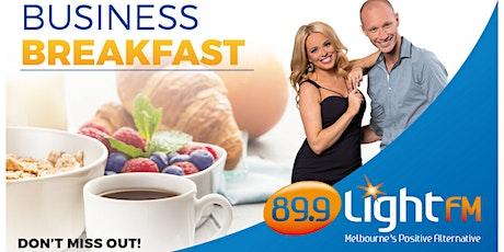 89.9 LightFM Business Breakfast - Tuesday 14th April tickets