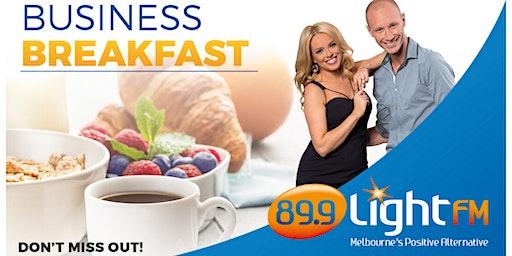89.9 LightFM Business Breakfast - Thursday 30th April