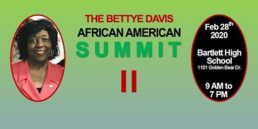 2020 Bettye Davis African American Summit II