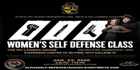 AlphaSelf-DefenseJAN2020 tickets