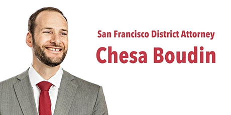 San Francisco District Attorney Chesa Boudin tickets