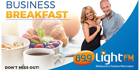 89.9 LightFM Business Breakfast - Thursday 15th October tickets