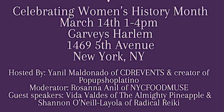 Celebrating Womens History Month tickets
