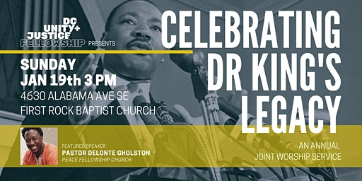 Celebrating Dr King's Legacy:  An Annual Joint Worship Service