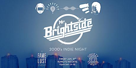MR. BRIGHTSIDE (2000's Indie Night) tickets
