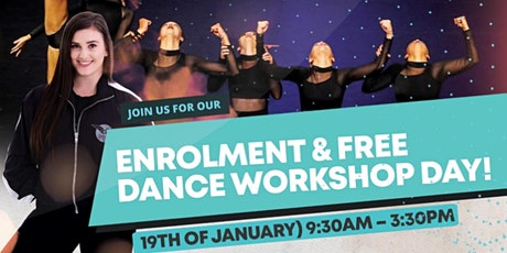 SJ's Enrolment Day & Free Dance Workshops tickets