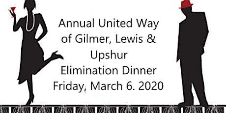 UW Annual Elimination Dinner tickets
