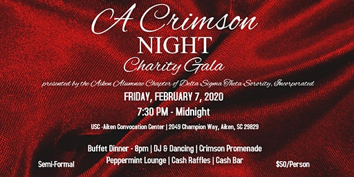A Crimson Night Charity Gala