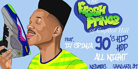 The Fresh Prince of Capitol Hill - A 90's Hip Hop Dance Party! tickets
