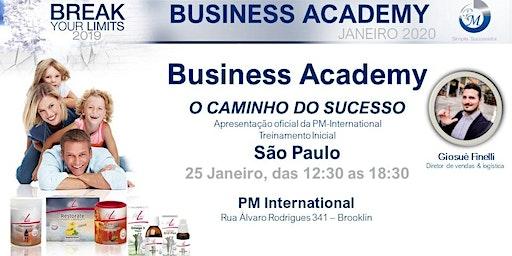 Business Academy  25 Janeiro 2020