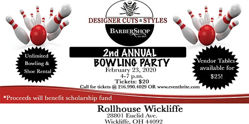 Designer Cuts & Style 2nd Annual Bowling Party