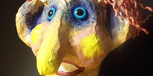 Paper Mache Scarecrow Head Masterclass 2: Painting, Decorating and Finishin