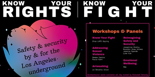 Know Your Rights, Know Your Fight
