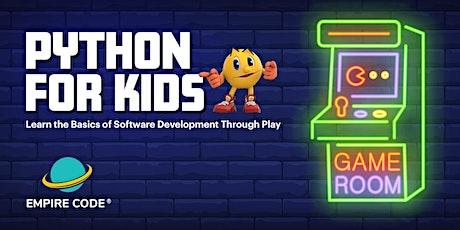 Python Coding for Kids at Empire Code Serangoon tickets