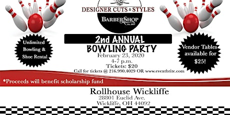 2nd Annual Bowling Party tickets