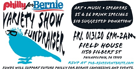 Philly for Bernie Variety Show Fundraiser tickets