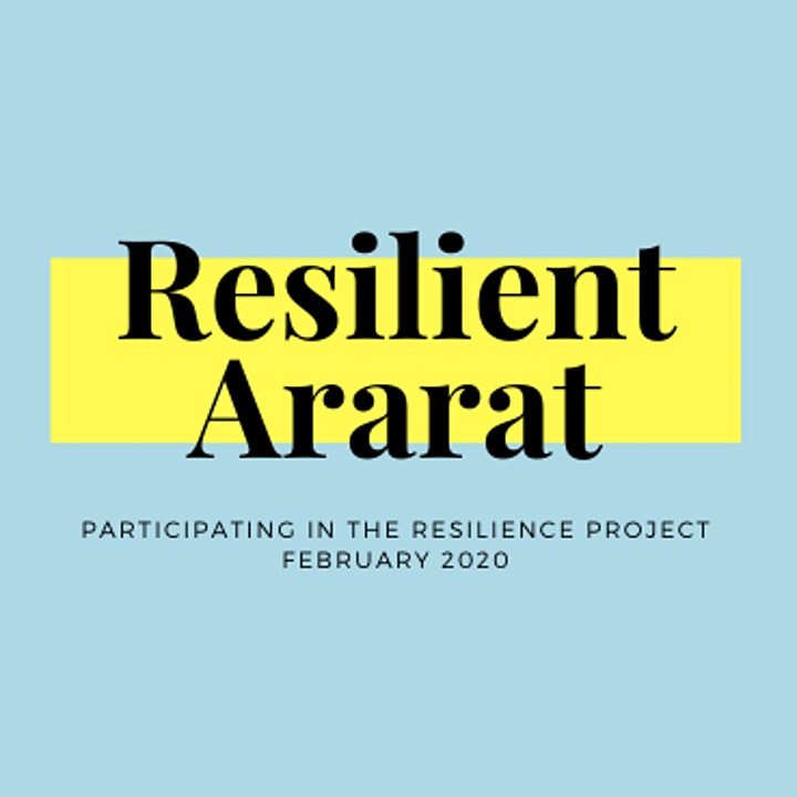 The Resilience Project Ararat - community session image