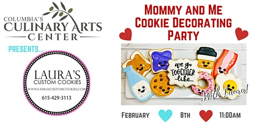 Mommy and Me Cookie Decorating Party