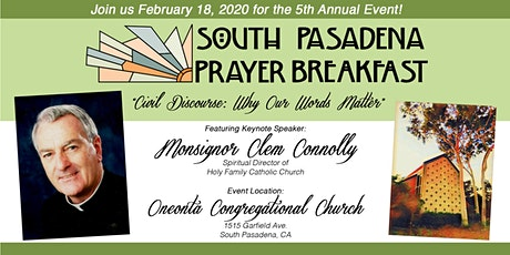 5th Annual South Pasadena Prayer Breakfast tickets