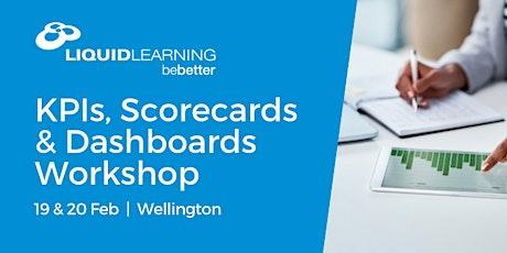 KPIs, Scorecards & Dashboards Workshop tickets