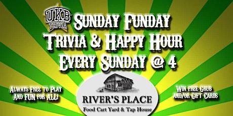 Sunday Funday Happy Hour & Trivia tickets