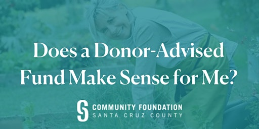 Does a Donor-Advised Fund Make Sense for Me? - March 25, 2020
