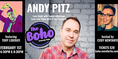 February 1st-Andy Pitz tickets