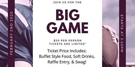 Big Game Day Party tickets