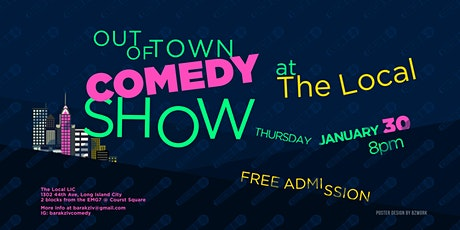 Out Of Town Comedy Show tickets