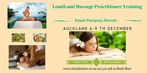 Lomi Lomi Massage Practitioners Levels 1&2