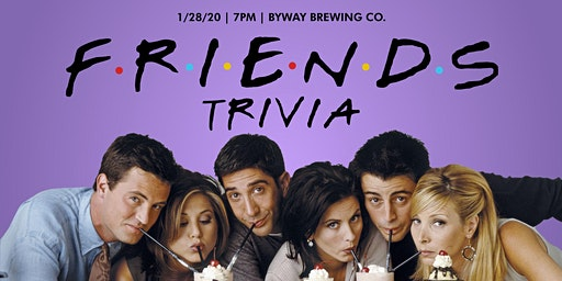 Friends Trivia Night at Byway Brewing Co.