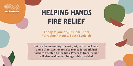 Helping Hands Fire Relief tickets